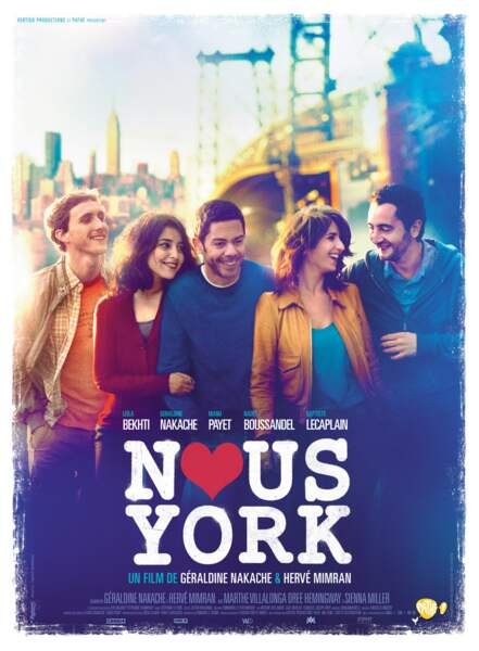 Avec Nous York, elle retrouve sa collègue et amie Géraldine Nakache