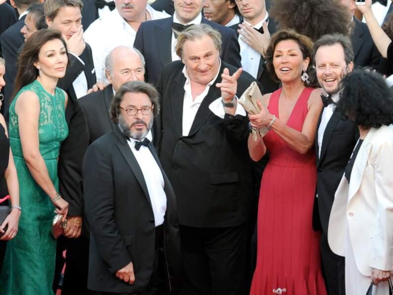 Gérard Depardieu, star de Cannes dimanche 18 mai