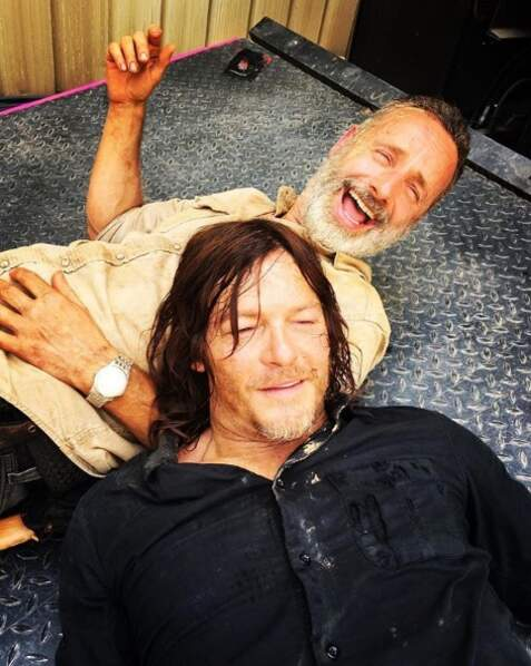 Rick et Daryl, l'amour fraternel ! Ce duo va nous manquer, non ?