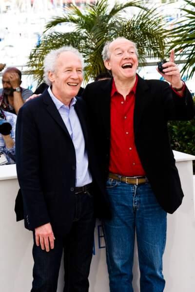Les frères Dardenne visiblement d'humeur joyeuse