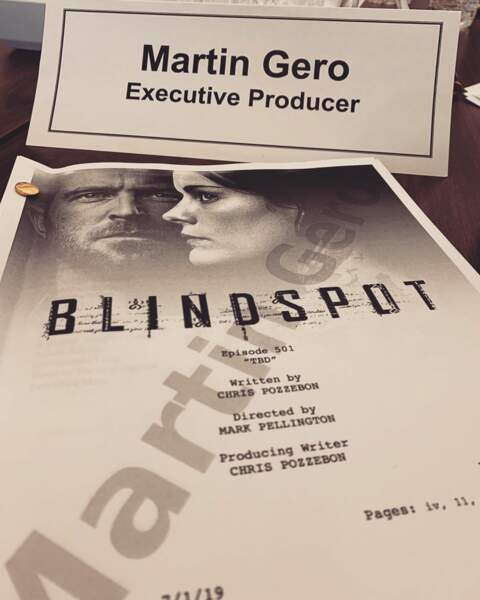 Que les fans se réjouissent : la saison 5 de Blindspot a un scénario !