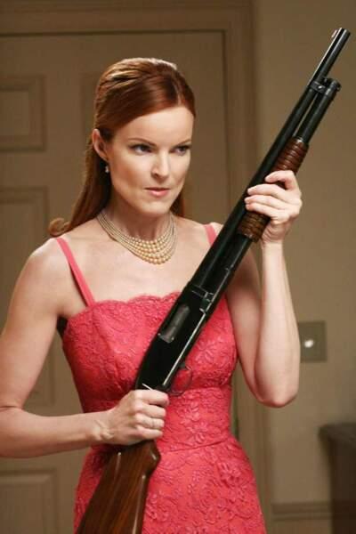 Desperate Housewives - Bree et son fusil