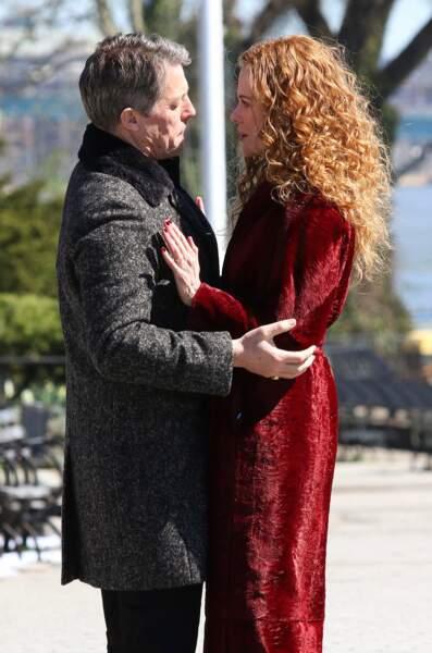 Nicole Kidman et Hugh Grant tournent une scène très émotionnelle…