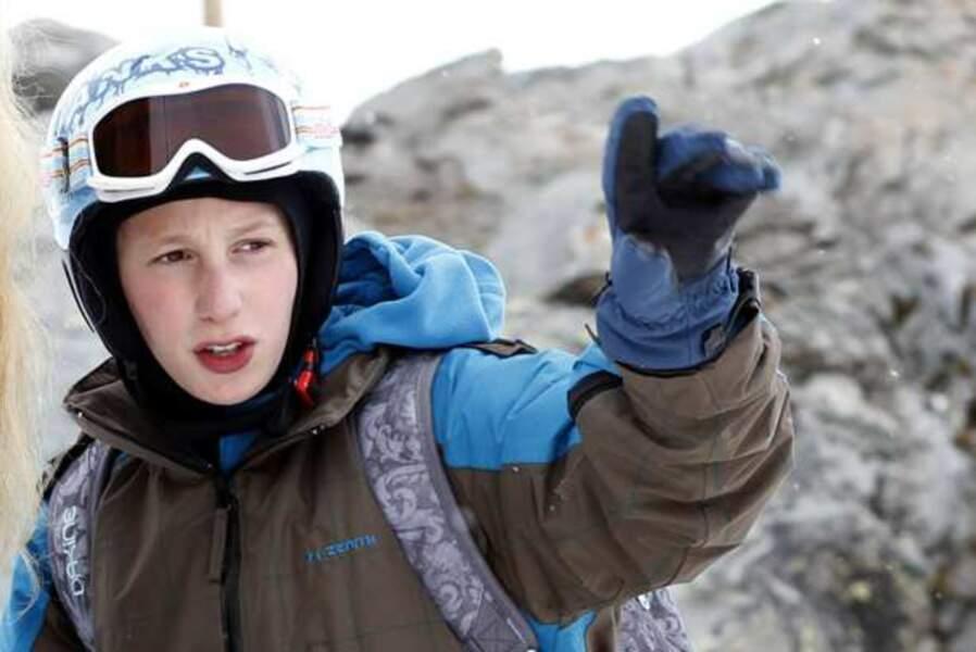 Kacey Mottet Klein, dans L'Enfant d'en haut