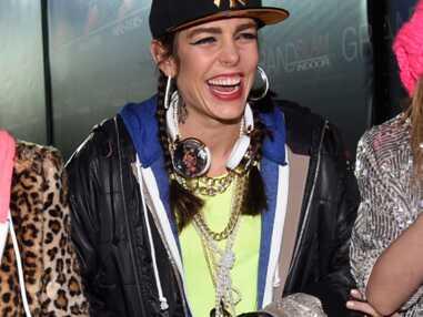 Charlotte Casiraghi en mode hip-hop aux Gucci Masters