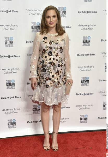 Même enceinte, Natalie Portman se donne à fond dans le cinéma