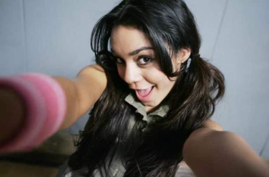 Vanessa Hudgens, espiègle dans High School Musical (2006)
