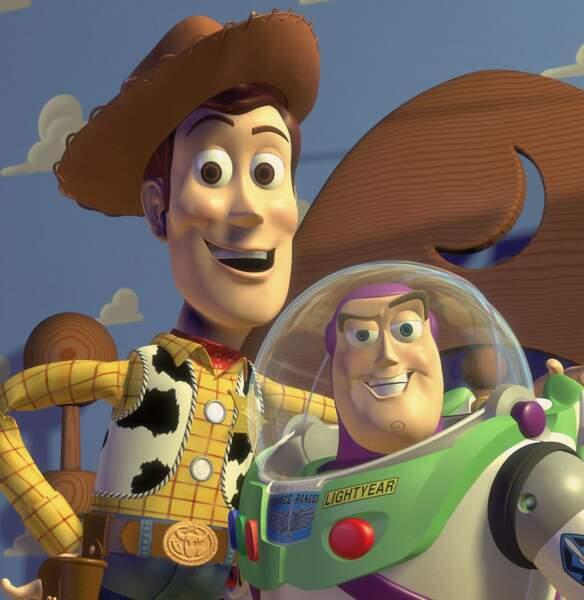 Buzz et Woody (Toy Story, 1995)