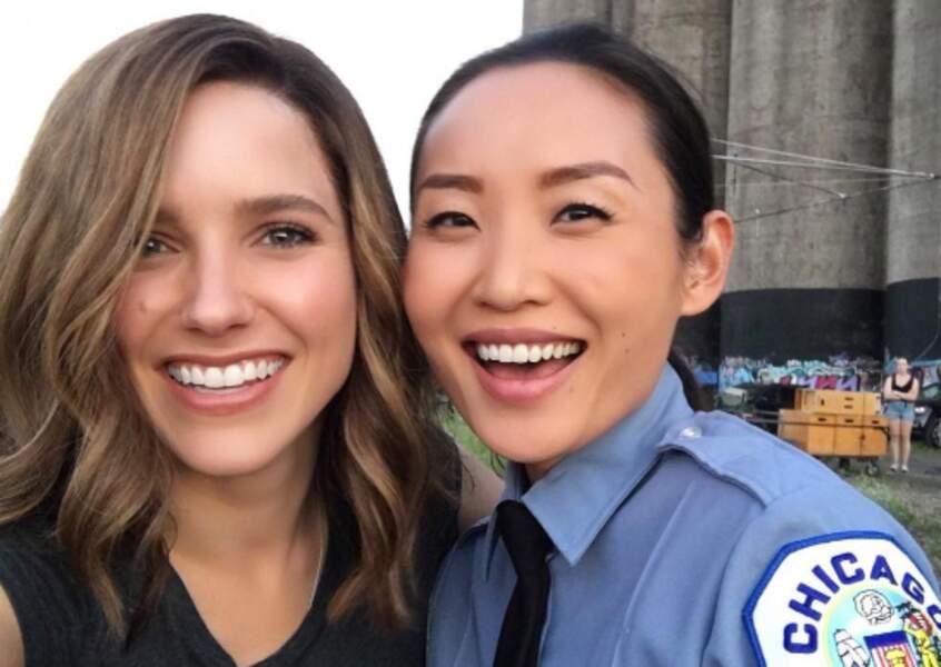 L'actrice accueille également une nouvelle venue dans la série, avec qui elle avait déjà tourné auparavant