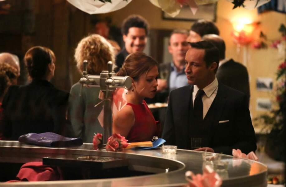 Xavier et Johanna se disputent