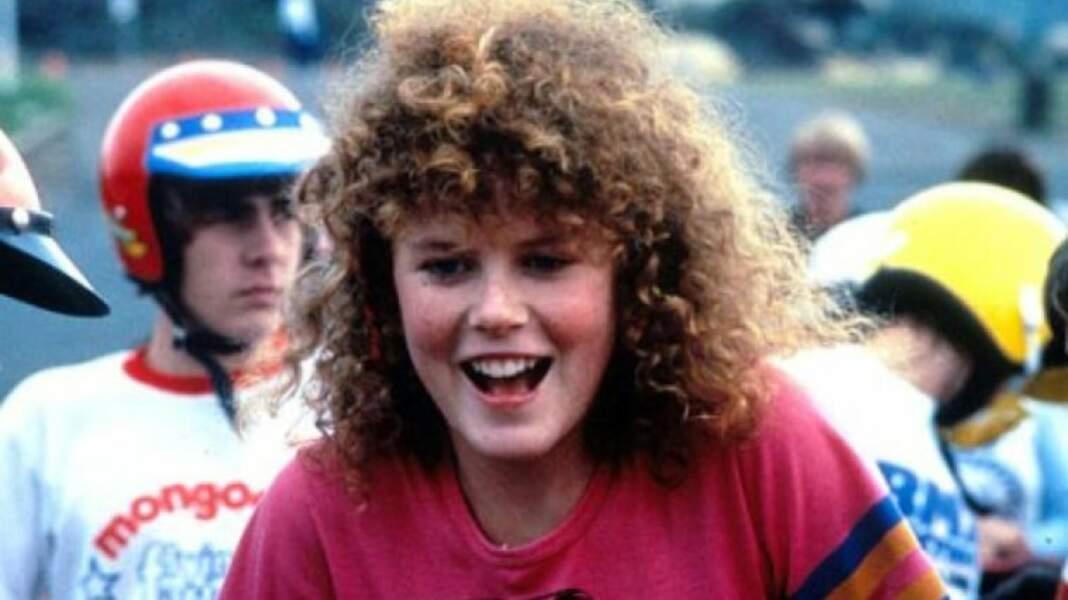 Elle débute sa carrière ciné en 1983, alors âgée de 16 ans, dans BMX Bandits.