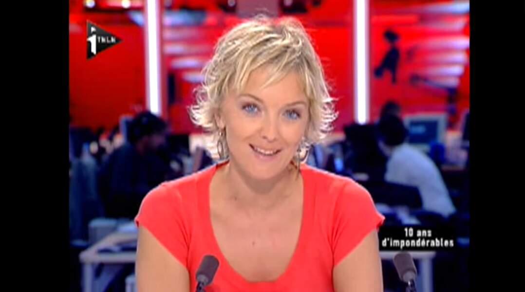 Maya Lauqué a commencé sur iTELE notamment aux côtés de Thomas Hugues.