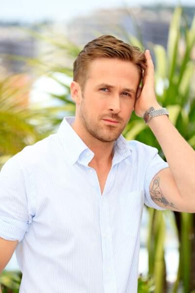 Ryan Gosling résolument beau gosse pour le photocall