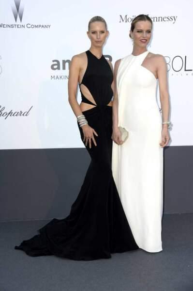 Karolina Kurkova et Eva Herzigova