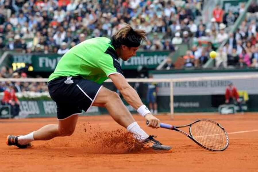 David Ferrer a mordu la poussière