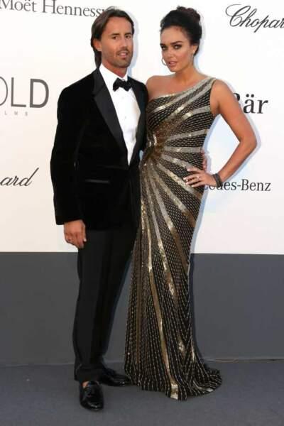 Tamara Ecclestone et Jay Rutland