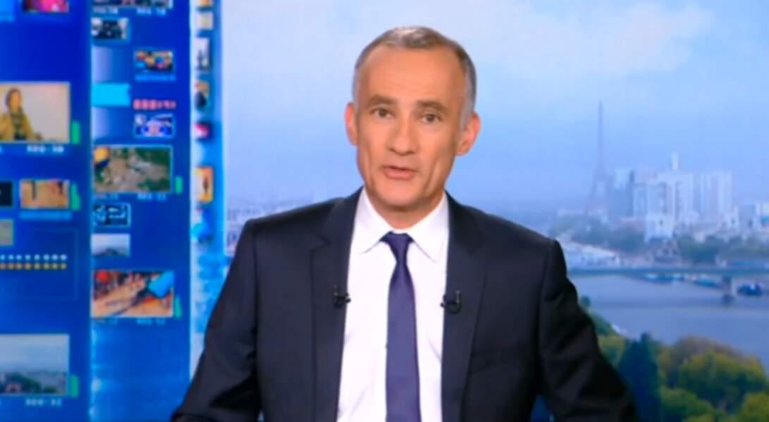 Gilles Bouleau a succédé à Laurence Ferrari à la tête du 20 heures de TF1 en 2012.