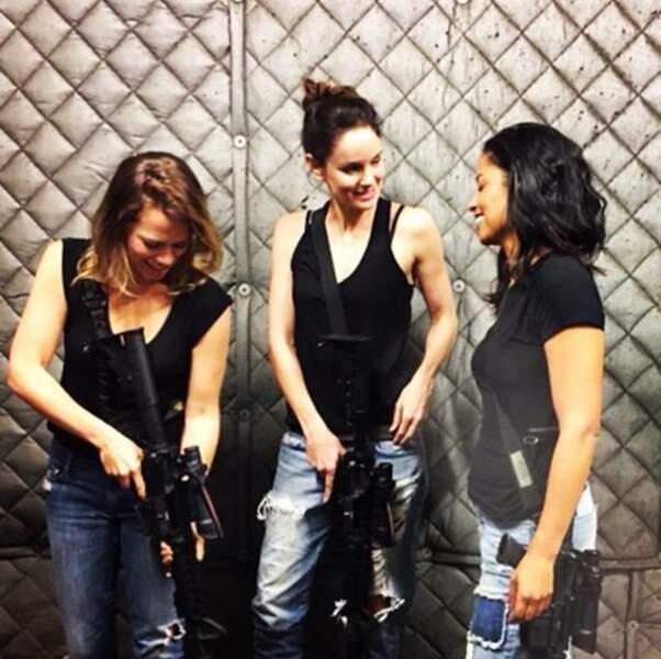 Du côté de Colony, avec Sarah Wayne Callies, les femmes prennent les armes
