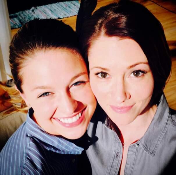 Melissa Benoist et Chyler Leigh pourraient être soeurs. Ça tombe bien ! Elles le seront dans Supergirl