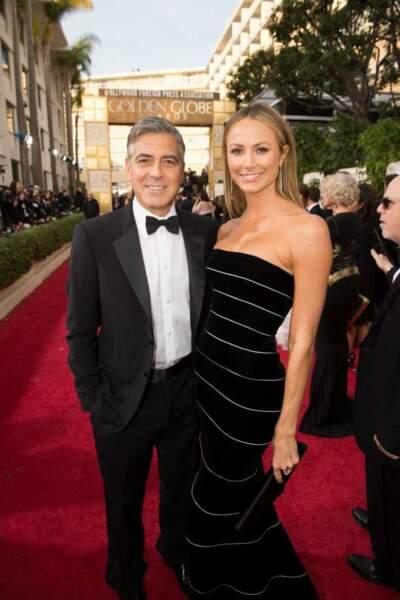 George Clooney et sa petite amie, Stacy Kiebler