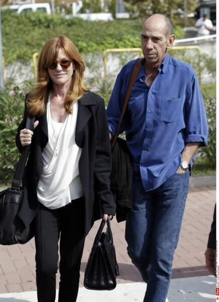 Miguel Ferrer et son épouse, Lori Weintraub