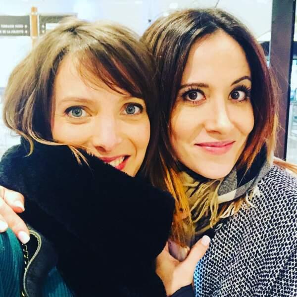 Même quand les caméras de Plus belle la vie ne tournent pas, Elodie Varlet et Fabienne Carat sont très complices