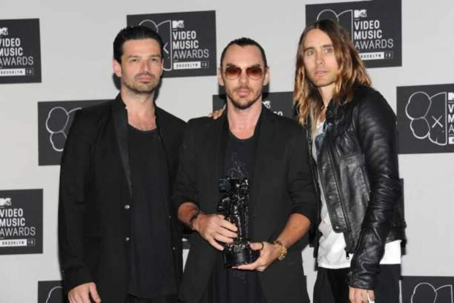 30 Seconds to Mars récompensé du prix de la meilleure vidéo rock  pour Up in the Air