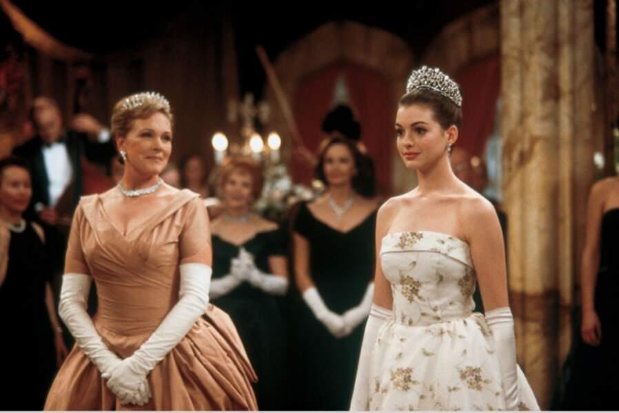 Princesse Thermopolis, héroïne gaffeuse de Princesse malgré elle (2001), production Disney...
