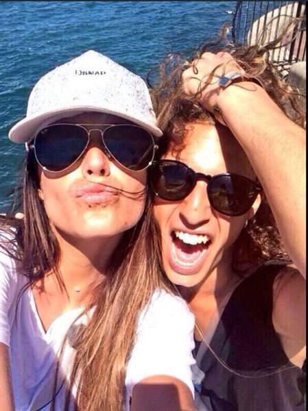 Le selfie de Eddy et Anaïs
