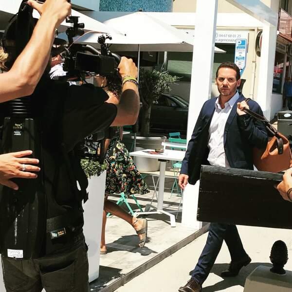 Jeremy Banster, aussi au casting de Grand Soleil lui a publié une photo beaucoup plus studieuse !