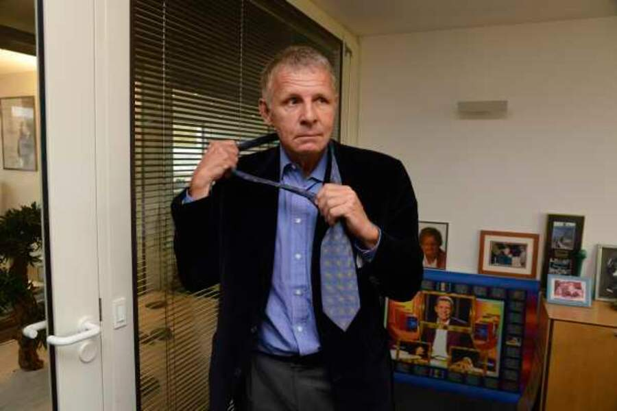 PPDA et la cravate de son premier JT sur TF1