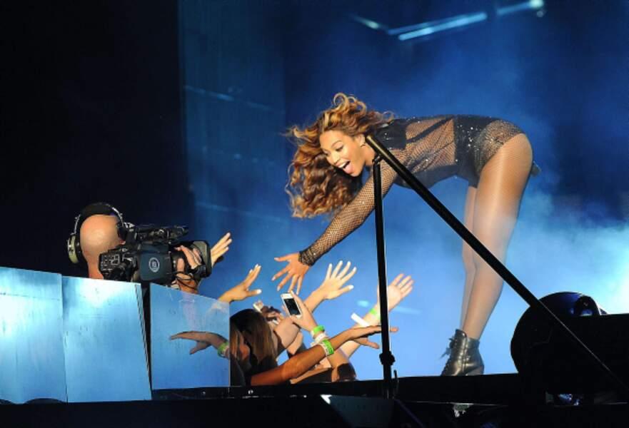 Lorsque Beyoncé se baisse, la terre entière a les yeux rivés sur elle.
