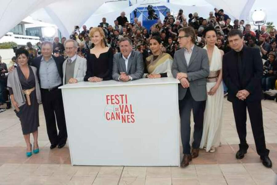 Le jury du 66e Festival de Cannes au grand complet