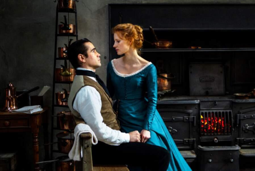 Face à Colin Farrell dans Mademoiselle Julie (2014)