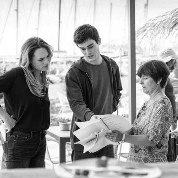 Quand mère et fils - incarnés par Mélanie Maudran et Gary Guenaire - se concentrent pour Un si grand soleil