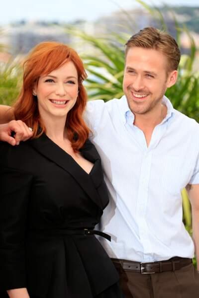 Christina Hendricks et Ryan Gosling