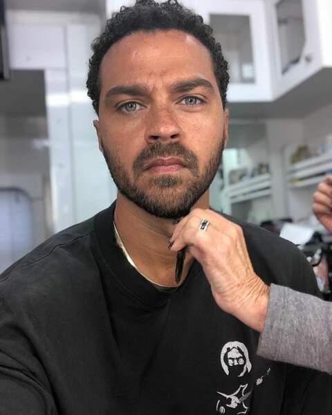 Jesse Williams alias le Dr. Jackson Avery aime que sa barbe soit taillée de près !