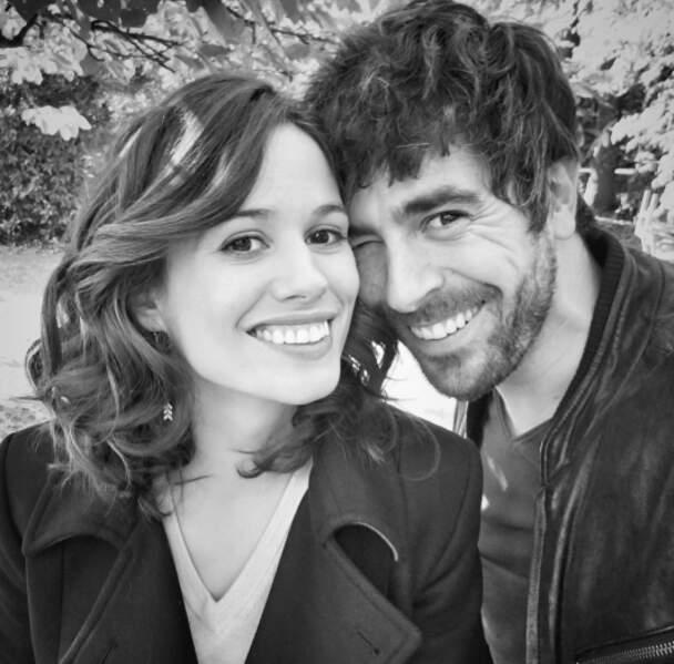 Instant tendresse entre les deux partenaires de Clem, Lucie Lucas et Agustin Galiana
