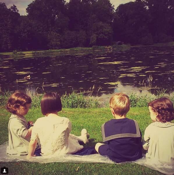 Photo nostalgie des enfants de la série...