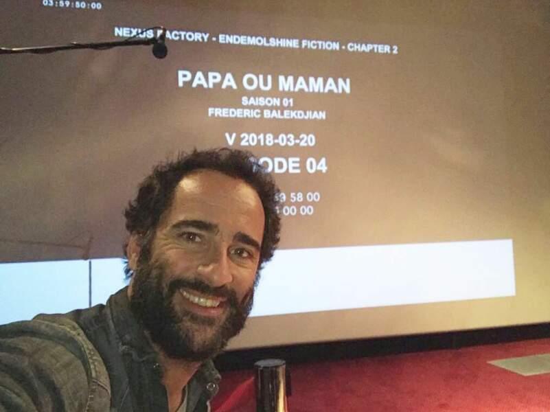 Florent Peyre peaufine la saison 1 de Papa ou maman, série de M6