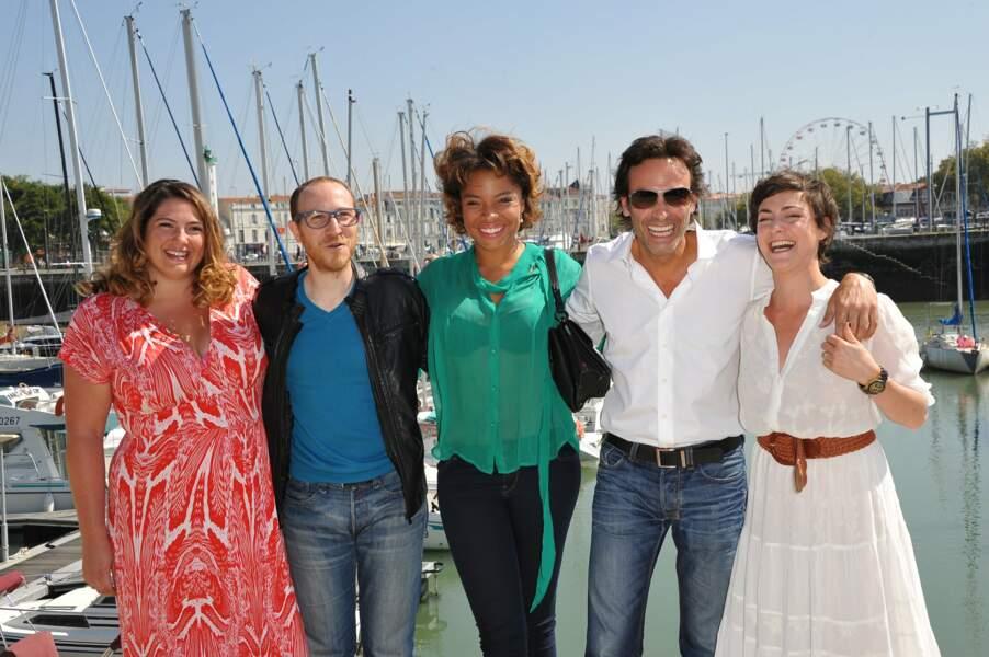 Le casting d'Interventions : Charlotte Gaccio, Marius Colucci, Jina Djemba, Anthony Delon et Marie Montoya