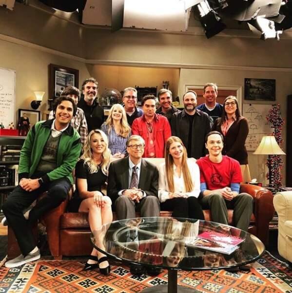 The Big Bang Theory accueille Bill Gates dans ses prochains épisodes !
