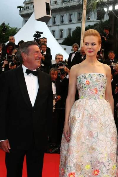 Daniel Auteuil n'a d'yeux que pour Nicole Kidman