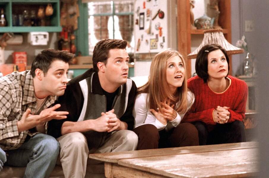 Friends (saison 4 - 1997) : avec Matt LeBlanc, Matthew Perry, Courteney Cox