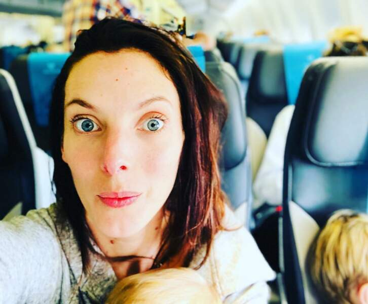 Elodie Varlet (Plus belle la vie) a décollé en famille pour la Réunion et le tournage de Cut.