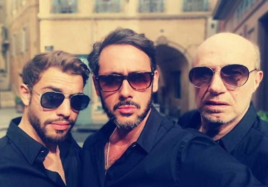 Nouveau boys band en cours de formation ? Abdel, Francesco et Léo !