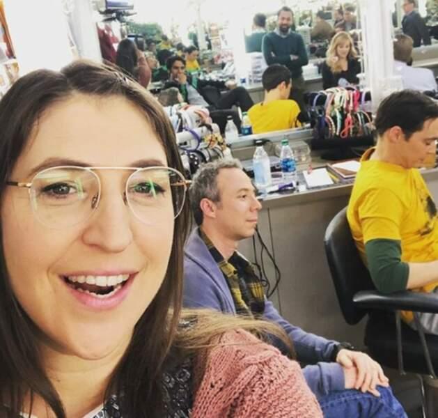 La fin de Big Bang Theory approche... C'est donc le moment ou jamais pour faire des selfies !