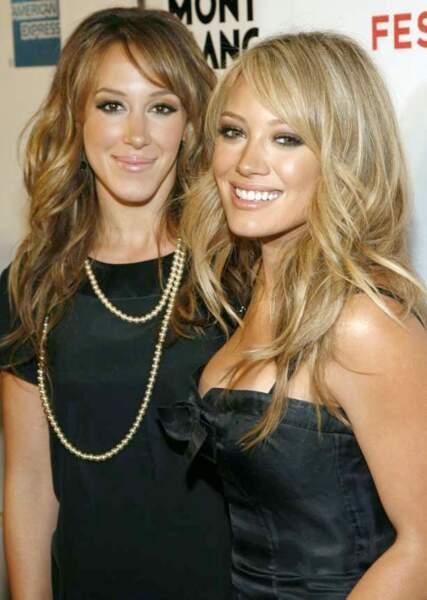 Haylie et Hilary Duff