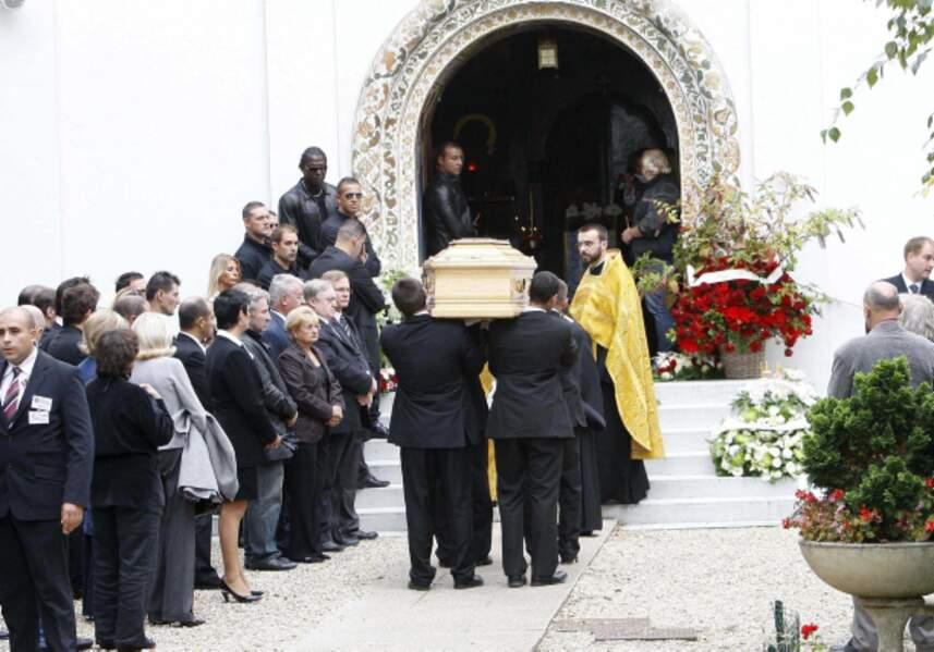 Filip Nikolic a été enterré le 24 septembre 2009.
