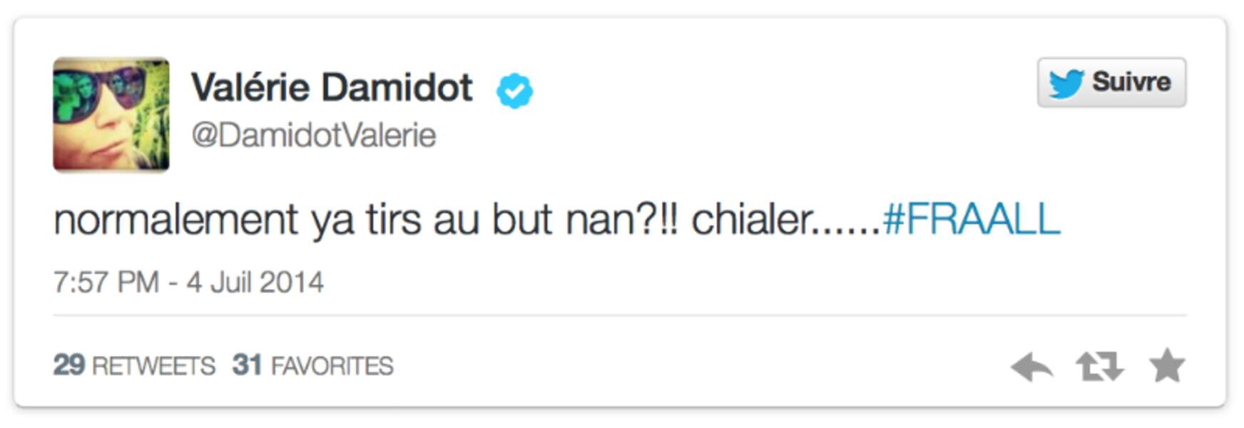 Elle fait trop bien la blonde, Valérie Damidot !